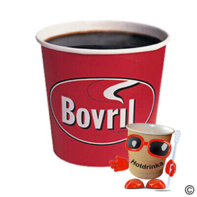 £54.45 • Buy Box Of 375 (15 X 25) Bovril 'Beefy' Soup In Cup, Incup Drinks, 76mm, 7oz