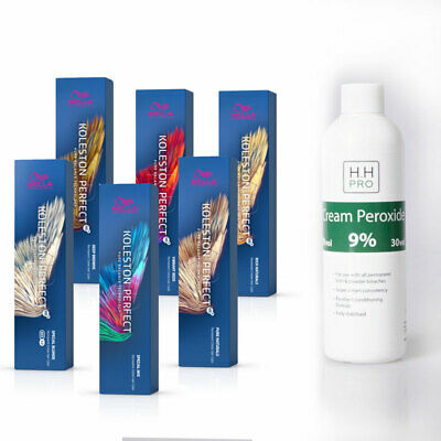 Wella Koleston Perfect ME+ Hair Colour And HH Pro Peroxide Developer 9% 250ml • 13.95£