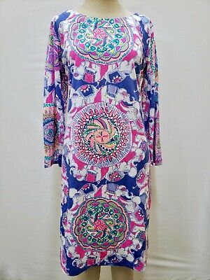 $47.99 • Buy New Lilly Pulitzer Women's Bay Dress  Play That Trunky Music  M, L, XL