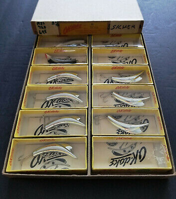 $ CDN125 • Buy Vintage OK-Doke Fishing Lures In Original Box - 9 Complete In Box -3 Empty Boxes