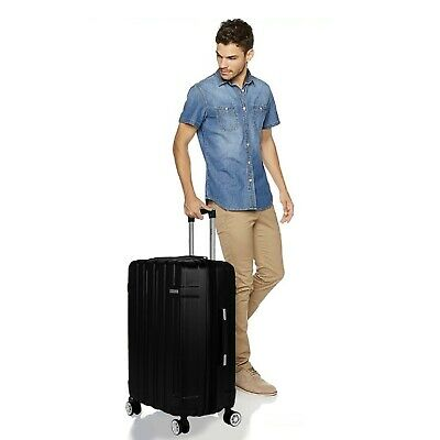 """View Details Cabin Suitcase Carry On ABS 4 Spinner Wheels Hard Shell 28"""" Luggage Lightwheight • 53.90$"""