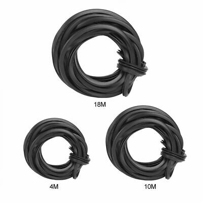 4/10/18M Greenhouse Rubber Strip Line Cable Glass Sealing Supplies Accessories • 10.15£