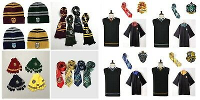 AU11.99 • Buy Harry Potter Costume Cosplay Beanie Scarf Tie Gloves Socks Gryffindor Ravenclaw