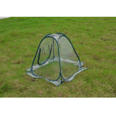 Small Tent Pop Up Greenhouse Clear PVC Backyard Flowerpot Cover Portable • 22.18£