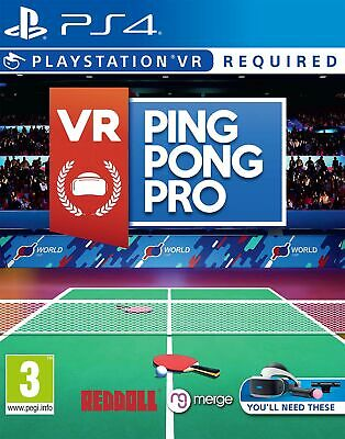 AU39.15 • Buy VR Ping Pong Pro | PlayStation 4 PS4 New