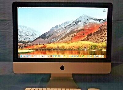 APPLE IMAC 21.5  CORE I5 2.5ghz  HIGH SIERRA   • 325£