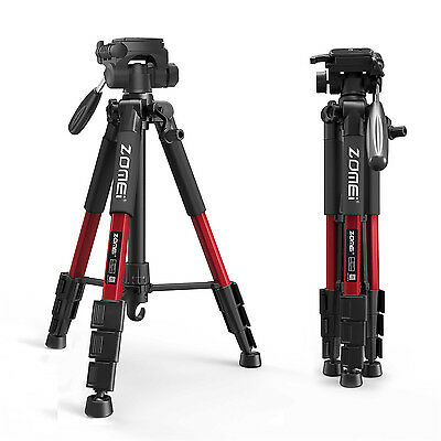 AU37.99 • Buy ZOMEI Pro Aluminum Travel Tripod Portable For Canon Nikon DSLR Camera Flexible