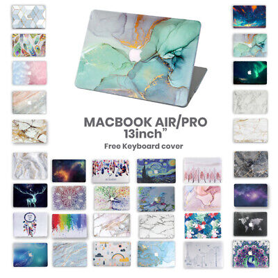 AU21.95 • Buy For Apple Macbook Air Pro 13  Inch Pattern Hard Case Shell + Keyboard Cover