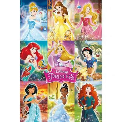Disney Princess Collage Official Large Rolled Poster. • 8.99£
