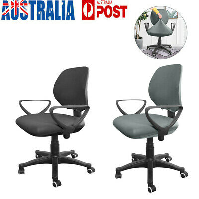 AU13.99 • Buy Stretch Swivel Computer Chair Cover Removable Office Seat Cover Slipcover Case