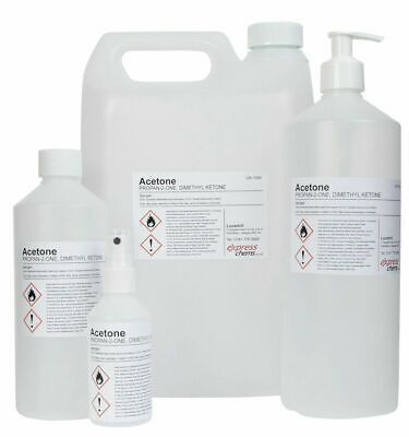 £7.99 • Buy Acetone 99.5% PURE High Strength Acrylic Nail Gel Polish Remover - 100ml To 20L