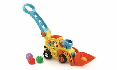 VTech POP And Drop Digger  Educational Push Along Digger For Toddler   Toy Gift • 28.99£