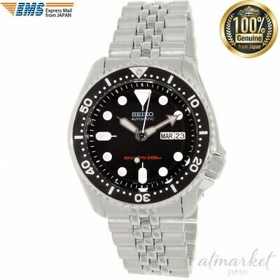 $ CDN694.53 • Buy SEIKO Watch SKX007K2 Men's Diver's Automatic Silver Band Black Face From JAPAN