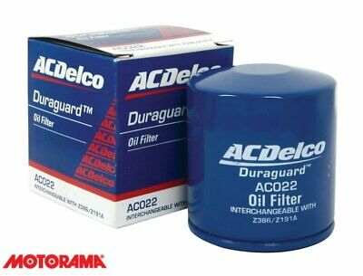 AU5.70 • Buy Genuine AC Delco Oil Filter AC022 Interchangeable With Z386 & Z191A GM#19266372