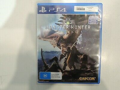 AU34.95 • Buy Preowned - PS4 - Monster Hunter World - Region 4