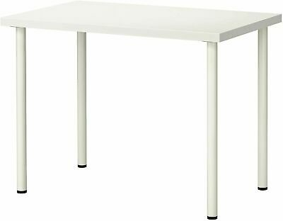 Large Computer Desk Simple Stylish Design PC Laptop Table Home 120x60cm White • 59.99£