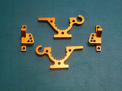 Xray T4 Bulkheads And Upper Clamps XR302761-O XR302034-O • 33.95£