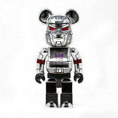 $1500 • Buy Medicom BE@RBRICK BAIT Transformer Megatron 1000% Bearbrick Figure