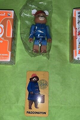 $11.04 • Buy NeW MediCom BEARBRICKS Be@rbricks Mini Series 39 * Animal PADDINGTON BEAR * RaRe