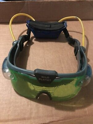 SVG Spy Gear Night Vision Goggles Glasses 1999 Wild Planet Toys • 7.24£