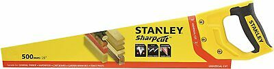 £14.49 • Buy Stanley Hand Saw Universal Cut Wood Hand Saw General Timber Hardwood Chip Board