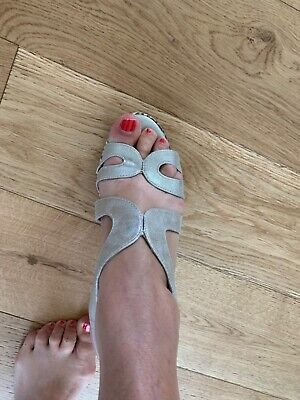 Women's Silver Wedges From Pavers Size 5 Worn Once • 20£