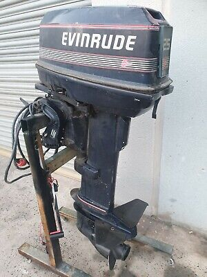 AU1100 • Buy 25hp Evinrude Outboard Motor / Electric Start 25hp Johnson Outboard Motor