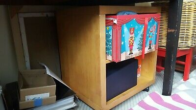 IKEA WOODEN BEDSIDE TABLE CABINET DRAWERS Cash On Collection • 25£