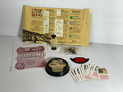 AU24.95 • Buy Jumanji The Game - Original Board Game - Spare Parts Lot - Mb Games 1990s