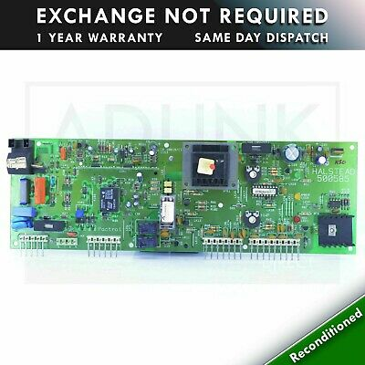 £40 • Buy Halstead Wickes Combi 90 Boiler  Pcb 500585  Come With 1 Year Warranty
