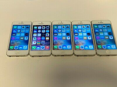 $ CDN336.98 • Buy LOT OF 5 Apple IPhone 5 16GB White Color Unlocked A1429 Fully Tested IPhone5