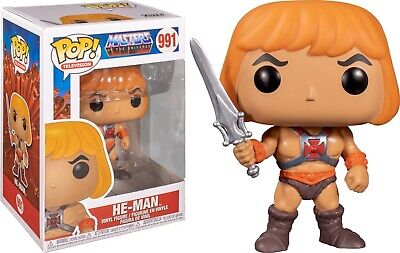 $11.94 • Buy Funko Pop Television: Masters Of The Universe™ - He-Man™ Vinyl Figure #47748