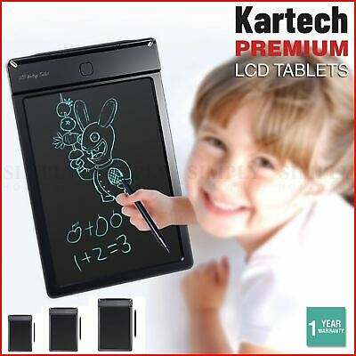 AU34.99 • Buy Kartech LCD Writing Tablet For Kids Digital 5 9 13  Drawing Board Pad Electronic