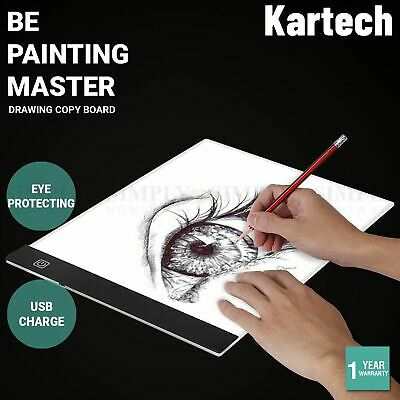 AU50.90 • Buy Kartech Drawing Copy Board 5V Tracing Tablet Art Writing LED Lightguide Plate