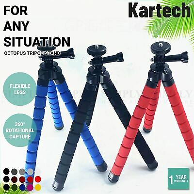 AU18.90 • Buy Kartech Octopus Tripod Stand Flexible Universal GoPro Phone Camera DSLR Portable
