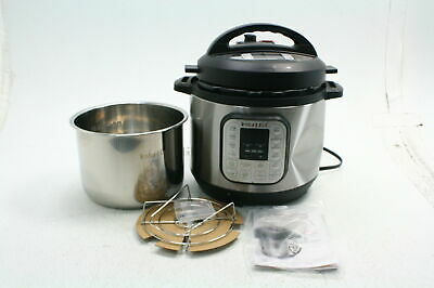 $38.67 • Buy Instant Pot Duo Multi Functional Electric Pressure Cooker 8 Quart Silver