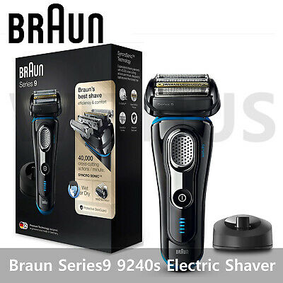 AU366.99 • Buy Braun Series 9 9240s Rechargeable Cordless Men's Electric Shaver Wet&Dry