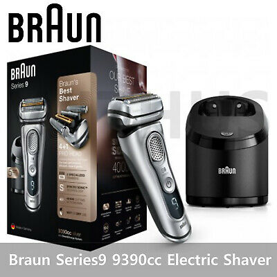 AU504.99 • Buy Braun Series 9 9390cc Men's Electric Shaver Wet & Dry