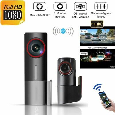 AU89.87 • Buy 1080P 170° Wide Angle Dual Dash Car Camera Front And Rear Night Vision WiFi Cam