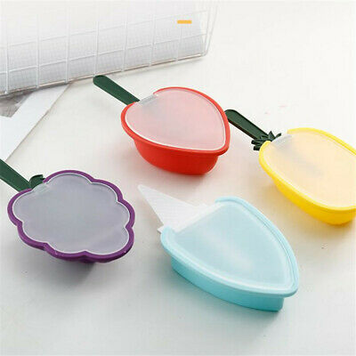 Silicone Block Pole Lolly Maker Mold Ice Cream Popsicle Frozen Mould DIY Tool S3 • 2.67£