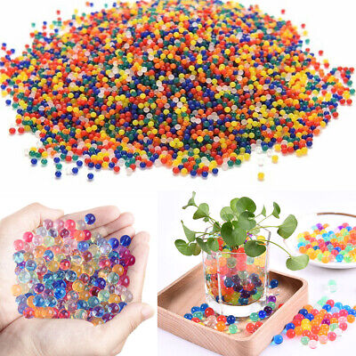AU6.99 • Buy Up To 100000PCS Crystal Water Balls Jelly Gel Beads For Vases Orbeez MultiColor