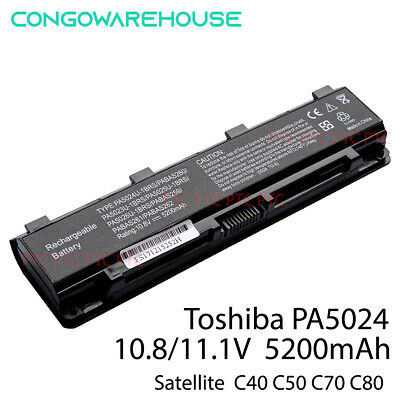 AU38.50 • Buy Laptop Battery For Toshiba Satellite C850 PABAS260, PA5024U-1BRS, PA5025U-1BRS