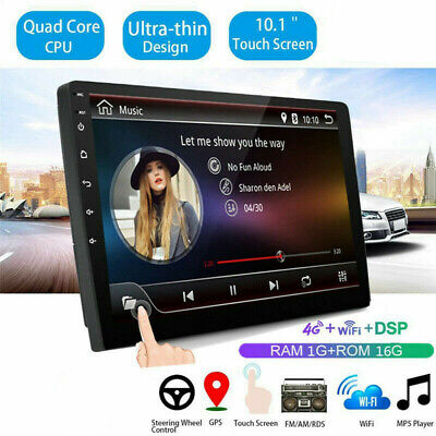 $139.35 • Buy 10.1in 4G Android Car Radio Multimedia Bluetooth Video Player Navigation GPS