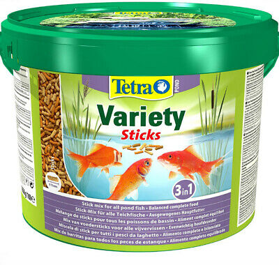 £22.49 • Buy Tetra Pond Variety Sticks 10l * Complete Food For All Pond Fish Koi *free