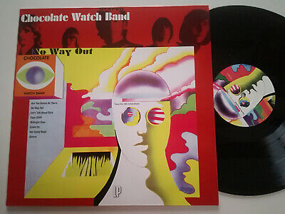 Chocolate Watch Band No Way Out Re Lp Vinyl Cw 5096 • 28.92£