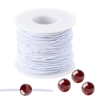 $ CDN8.90 • Buy 1 Roll Elastic Line Beaded Soft Strong Wiring Material Rope Thread For Craft