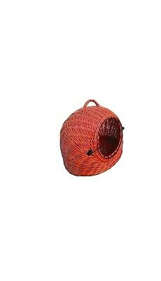 Wicker Carrier Dog Cat • 21.99£