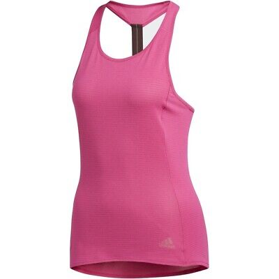 £14.99 • Buy New Adidas Workout Vest Tank Top - Ladies Womens Gym Training Fitness - Pink