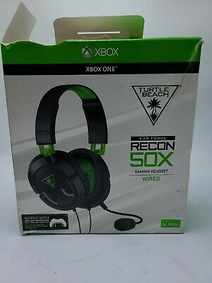 $19.95 • Buy Turtle Beach RECON 50X Black Headset For Xbox One - PS4 - Nintendo Switch(READ)