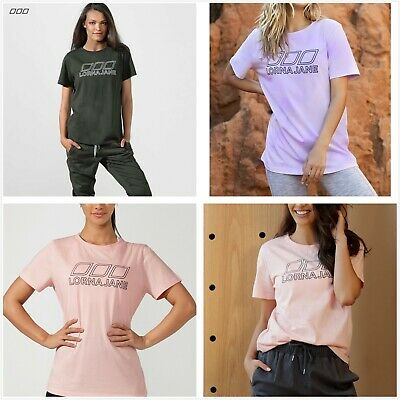 AU32.99 • Buy Lorna Jane Iconic Tee Womens S/Sleeve Active Nation Day T-Shirt Crew Tops XXS-L